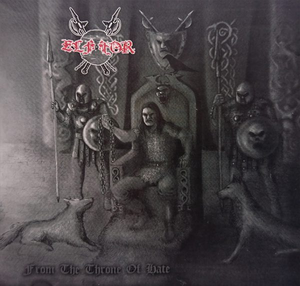 """FROM THE THRONE OF HATE"" CD"